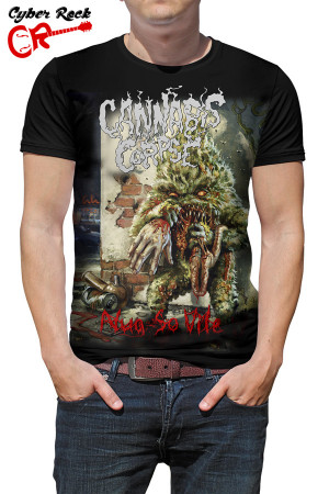 Camiseta Cannabis Corpse Nug so Vile
