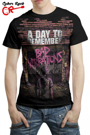 Camiseta A Day to Remember Bad Vibrations