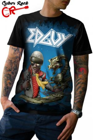Camiseta Edguy Space Police