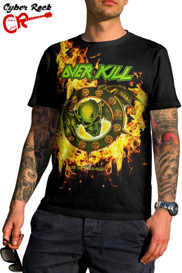 Camiseta Overkill Live in Overhausen