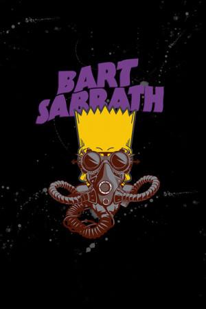 Camiseta Bart Sabbath