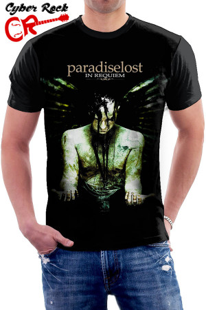 Camiseta Paradise Lost - Requien