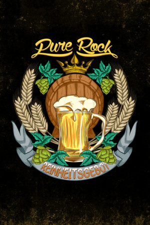 Camiseta Rock Beer Pure Rock