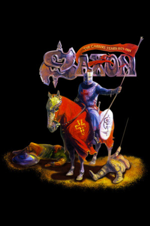 Camiseta Saxon The Carrere Years