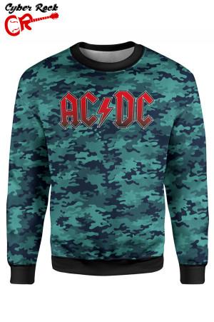 Blusa moletom AC DC camo