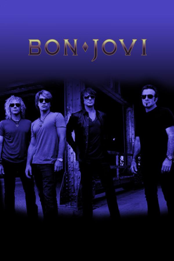 Camiseta Bon Jovi Logo