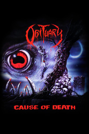 Camiseta Obituary Cause of Death