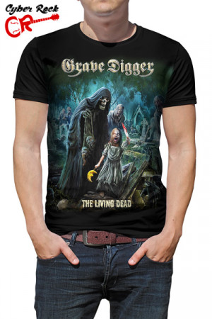 Camiseta Grave Digger the Living Dead