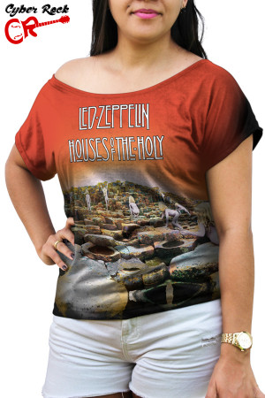 Blusinha Led Zeppelin Houses of the Holy