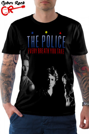 Camiseta The Police Every Breath You Take
