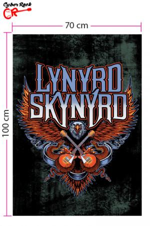 Bandeira Lynyrd Skynyrd