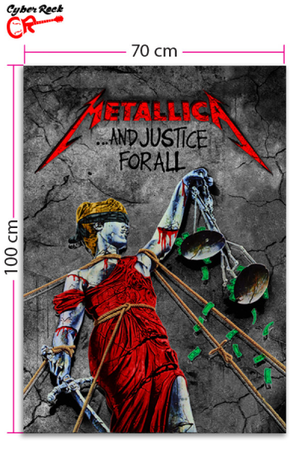 Bandeira Metallica and Justice for All