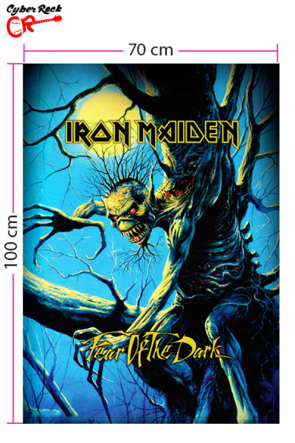 Bandeira Iron Maiden - Fear of the Dark