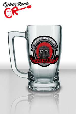 Caneca Chopp Black Sabbath