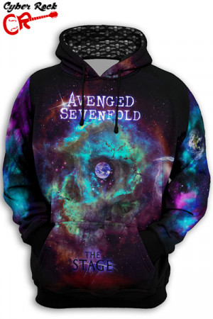 Blusa Moletom Avenged Sevenfold The Stage