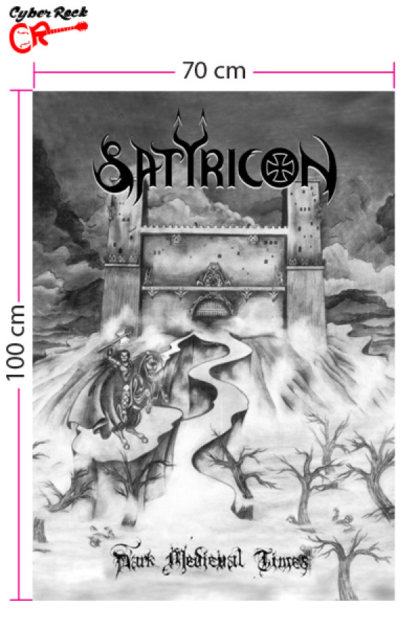 Bandeira Satyricon - Dark Medieval Times