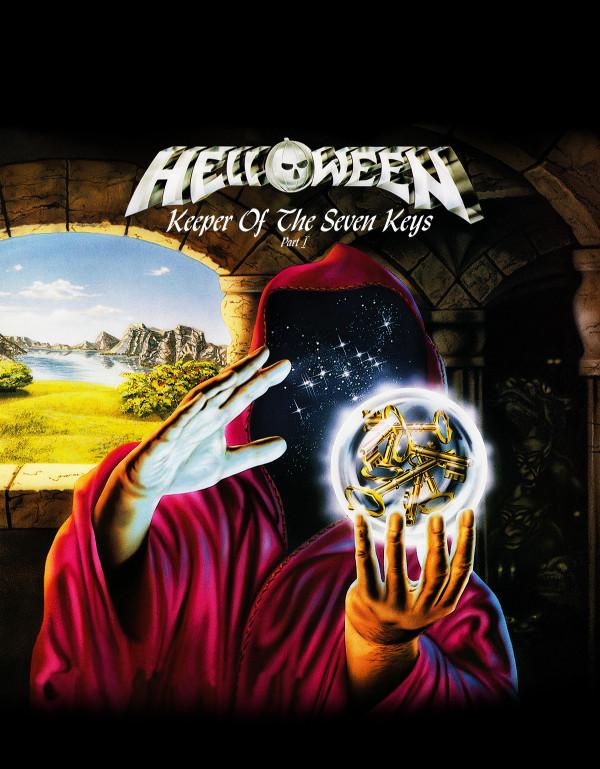 Camiseta Helloween Keeper Of The Seven Keys