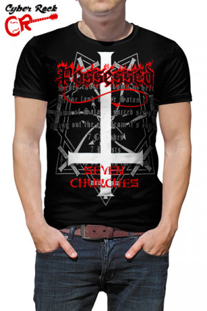 Camiseta Possessed Seven Churches