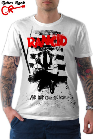 camiseta Rancid And Out Come the Wolves