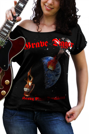 BLusinha Grave Digger Heavy Metal Breakdown