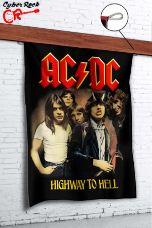 Bandeira AC/DC Highway To Hell