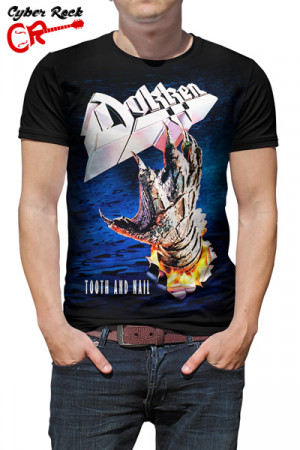 Camiseta Dokken Tooth and Nail