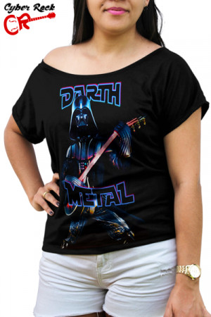 Blusinha Darth Metal