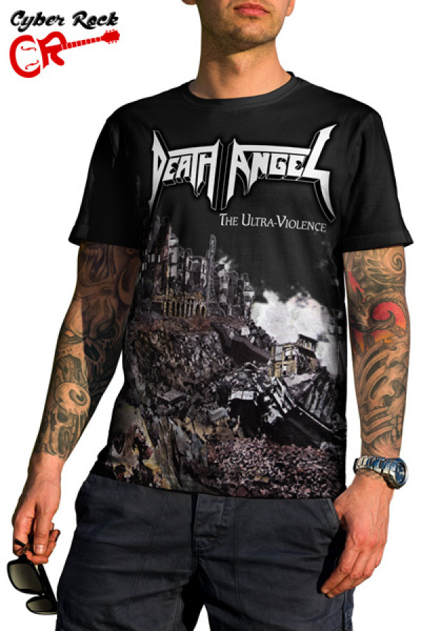 Camiseta Death Angel The Ultra-Violence