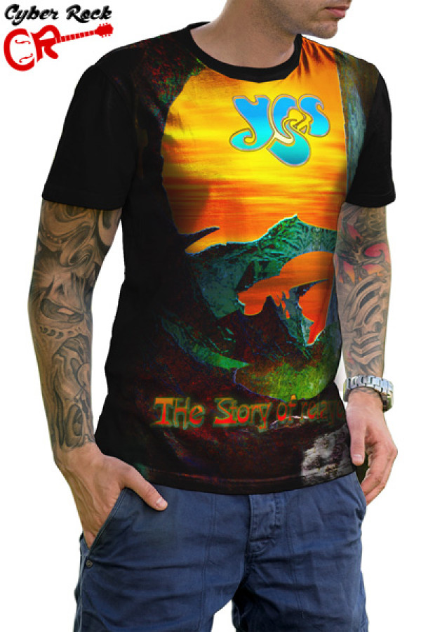 Camiseta Yes The Story of Relayer