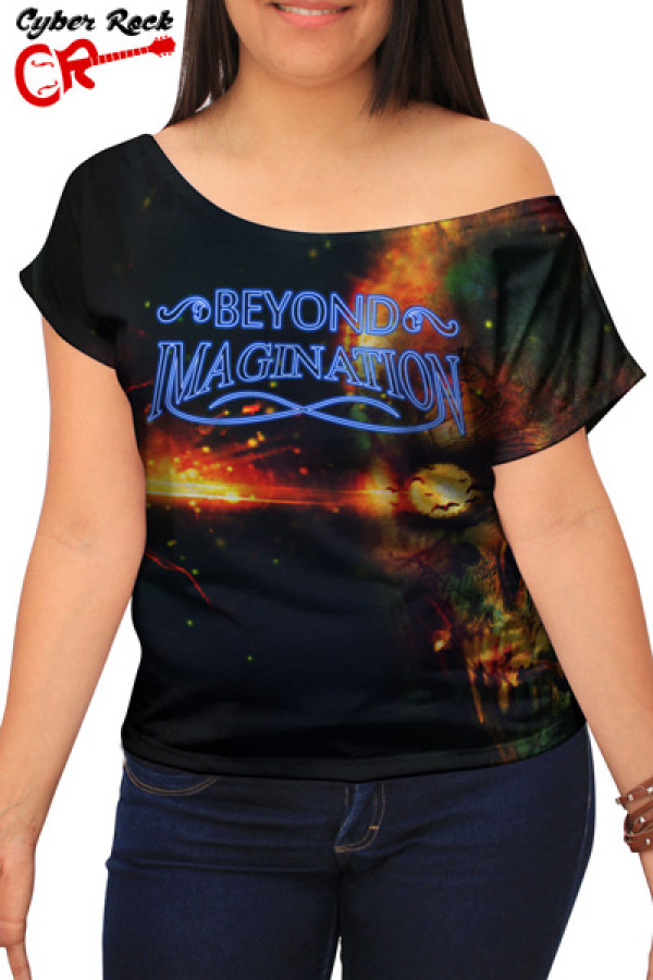 Blusinha Skull Beyond Imagination