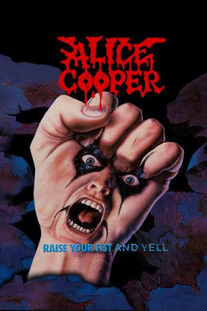 Camiset Alice Cooper Raise Your Fist And Yell