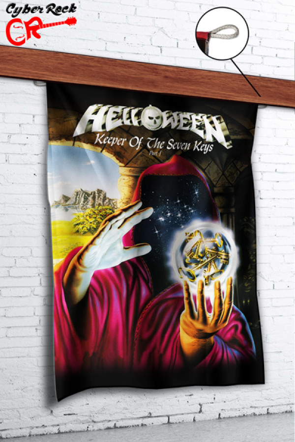 Bandeira Helloween Keeper Of The Seven Keys