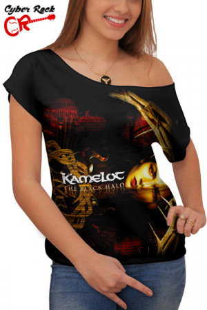 Blusinha Kamelot The Black Halo