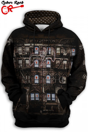 Blusa Moletom Led Zeppelin Physical Graffit