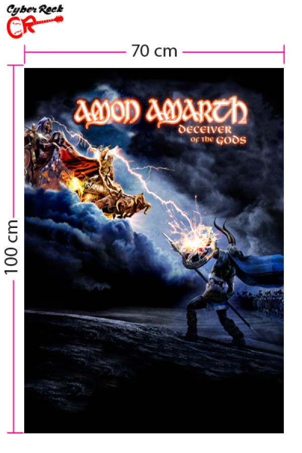 Bandeira Amon Amarth Deceiver of the Gods