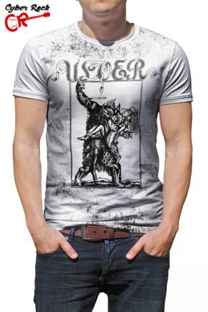 Camiseta Ulver Vargnatt branca