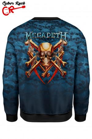 Blusa moletom Megadeth
