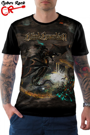 Camiseta Blind Guardian Live Beyond the Spheres