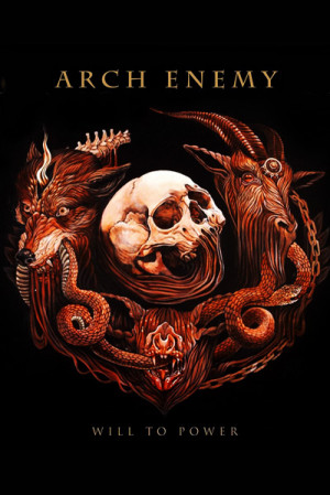 Camiseta Arch Enemy Will to Power