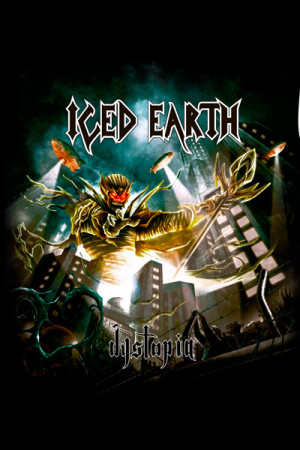 Camiseta Iced Earth Dystopia