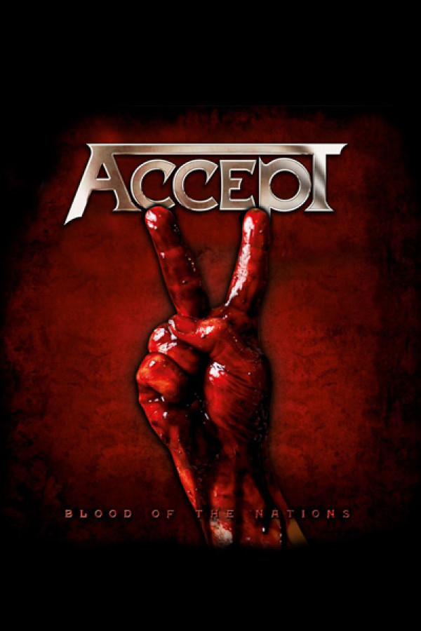 Camiseta Accept Blood Of The  Nations