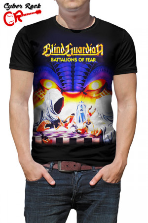 Camiseta Blind Guardian Battalions of fear
