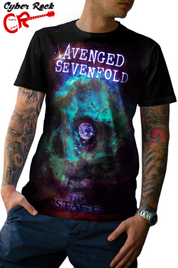 Camiseta Avenged Sevenfold The Stage
