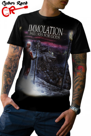 Camiseta Immolation Failures For God