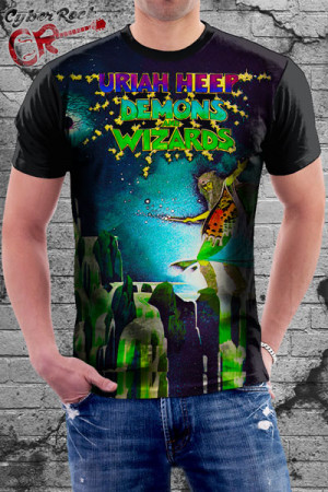 Camiseta Uriah Heep Demons Wizards