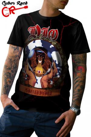 Camiseta Dio Sacred Heart