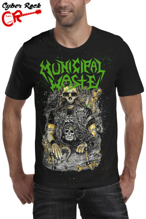 Camiseta Municipal Waste