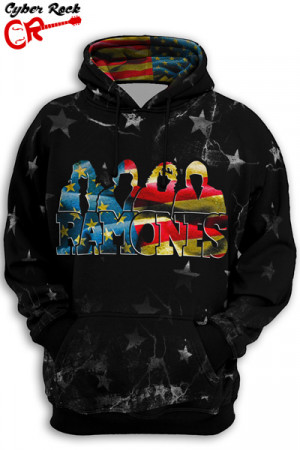 Blusa Moletom Ramones Arte USA