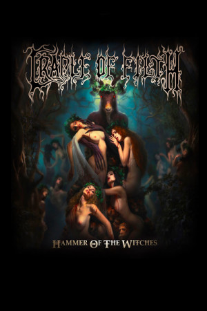 Camiseta Cradle of Filth Hammer of the Witches