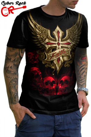Camiseta Skulls Faith